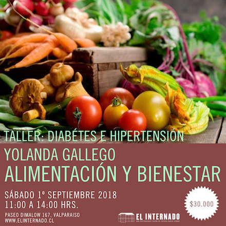 Yolanda Gallego - TALLER Alimentación y bienestar (Diabetes e hipertensión)