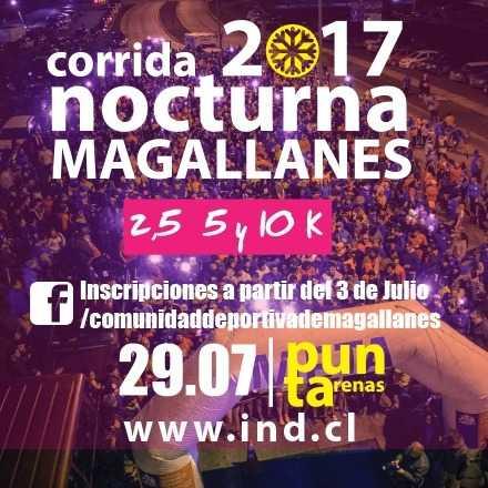 Corrida Nocturna Magallanes 2017