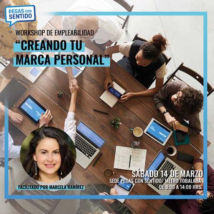 """Taller de Empleabilidad """"Creando tu marca personal"""" - Marzo"""