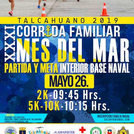 XXXI CORRIDA FAMILIAR MES DEL MAR 2019