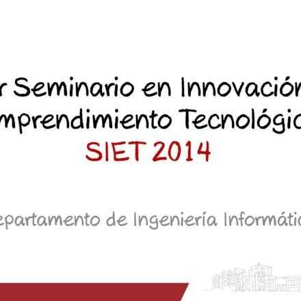Seminario en Innovación y Emprendimiento Tecnológico, UCSC.