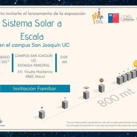 Pre-Lanzamiento Sistema Solar a Escala