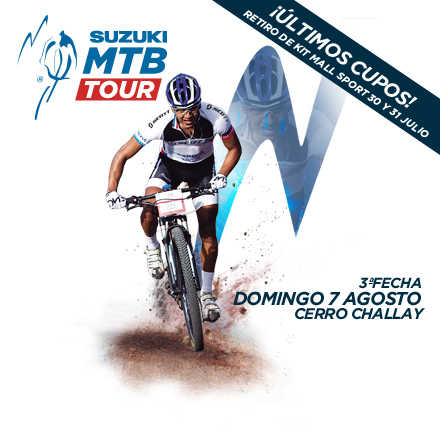 Suzuki Mountain Bike Tour 3ª Fecha 2016