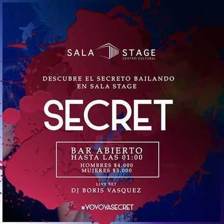 Viernes Secret Sala Stage