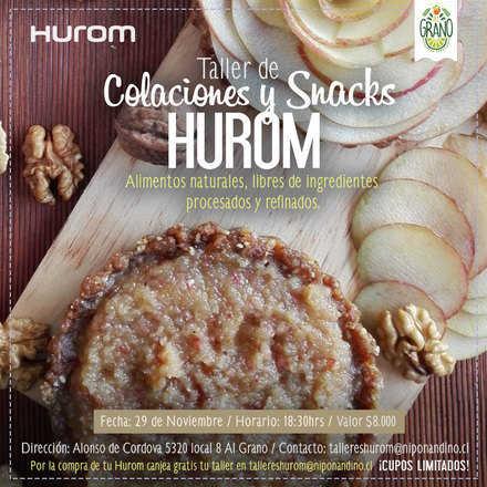 Taller Hurom Snacks y Colaciones 29 Noviembre