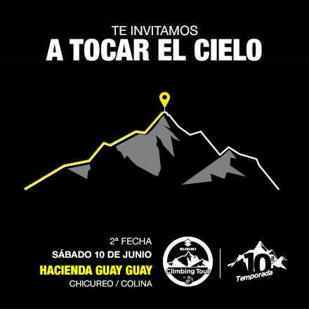 Suzuki Climbing Tour by Protein Shot, 2° Fecha 2017