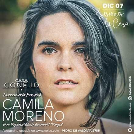 Camila Moreno   Lanzamiento Fansclub