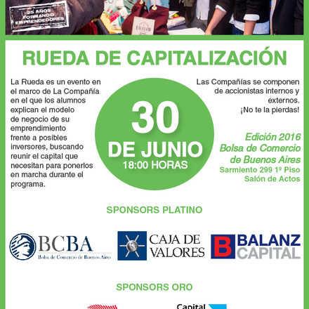 Rueda de Capitalización 2016