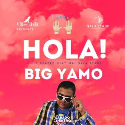 Hola presenta : Big Yamo en vivo #HolaVerano