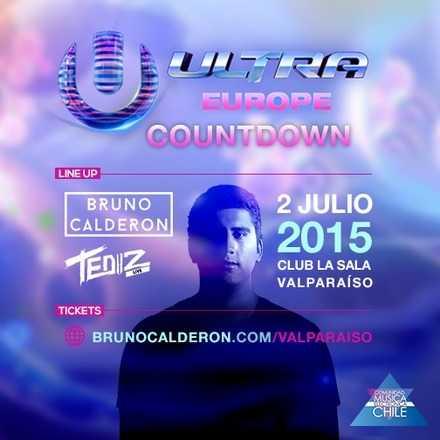 Ultra Europe Countdown - Valparaiso