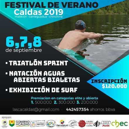 Festival de Verano de Caldas - Triatlón