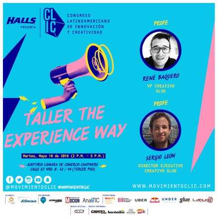 TALLER THE EXPERIENCE WAY
