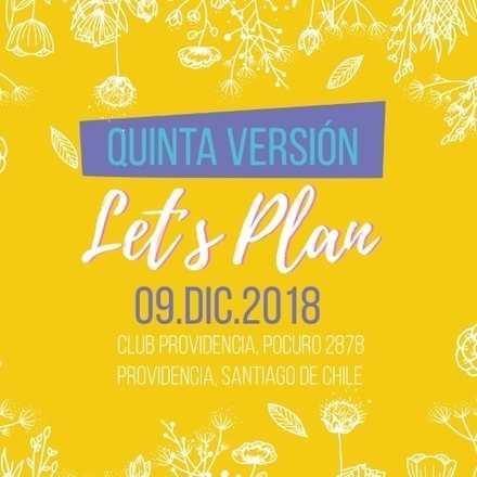 Let's Plan quinta versión