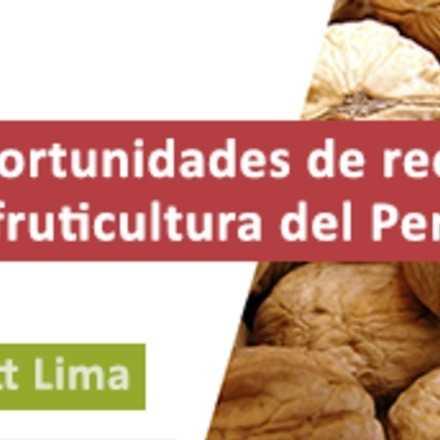 Seminario Nuevas Especies y Oportunidades de Recambio Varietal para la Fruticultura del Perú