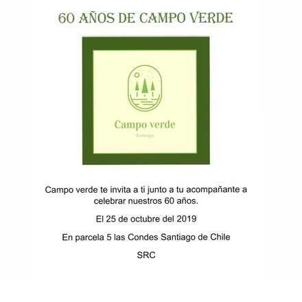 60 Años de campo verde