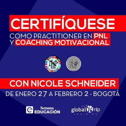 Certificación Internacional: Practitioner en PNL y Coaching Motivacional