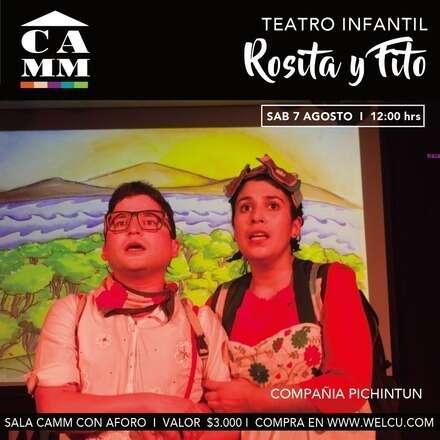 """Teatro Infantil """"Rosita y Fito"""""""