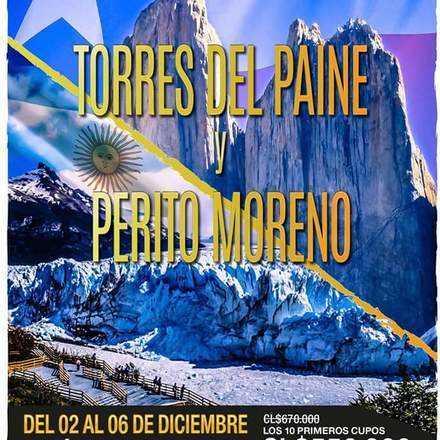 Torres del Paine-Glaciar Perito Moreno