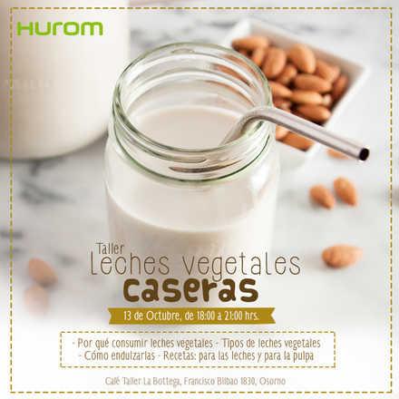 Taller Hurom OSORNO -  Leches vegetales 13 octubre