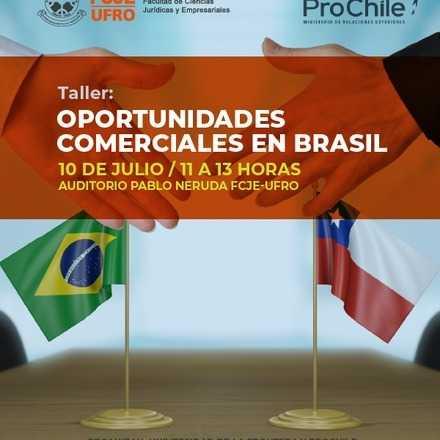 """Taller: """"Oportunidades comerciales en Brasil"""""""