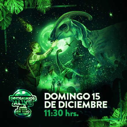 Dinosaurios Alive el show en vivo