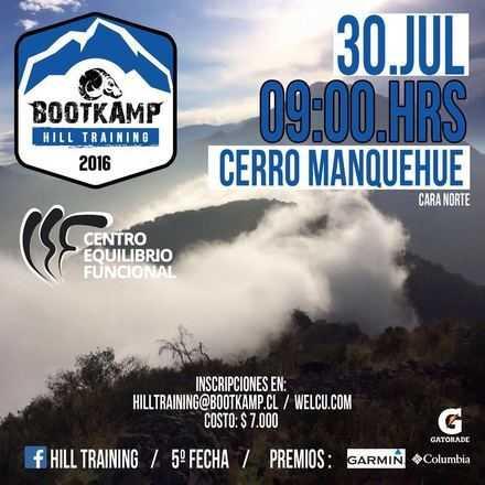 Hill Training - Manquehue (norte) - 5° Fecha 2016