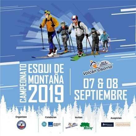 5ta Fecha Campeonato Nacional Esqui de Montaña Volcan Osorno