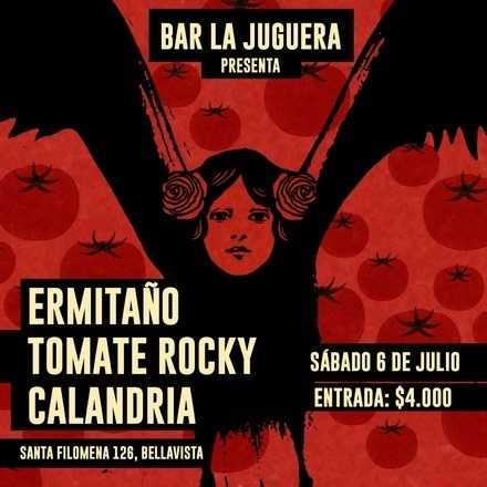 Ermitaño+Tomate Rocky+Calandria en la Juguera