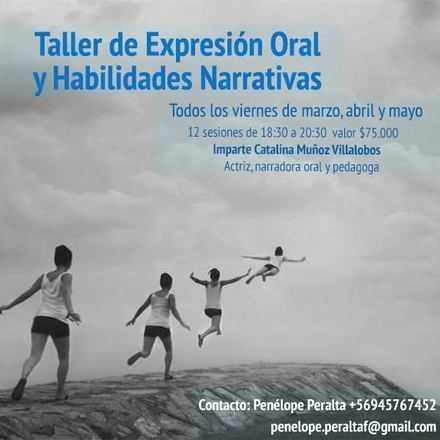 Taller de expresión oral y habilidades Narrativas