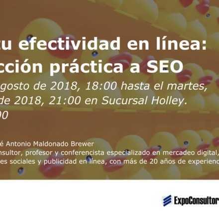 Mejora tu efectividad en línea: Introducción práctica a SEO