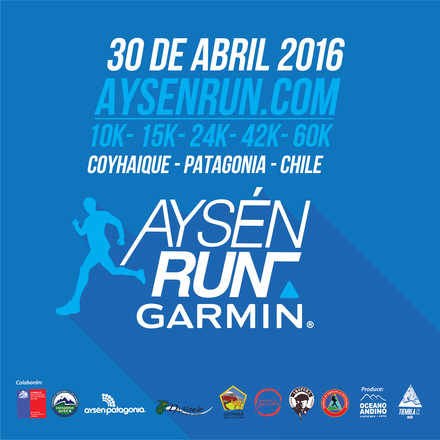 Aysén Run GARMIN 2016 / 3ª Edición !!