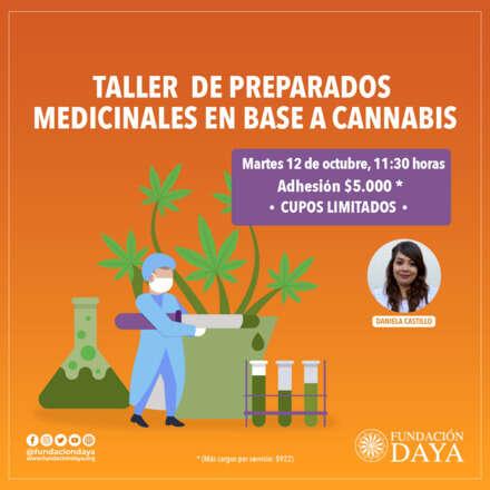 Taller de Preparados Medicinales en Base a Cannabis 12 octubre 2021