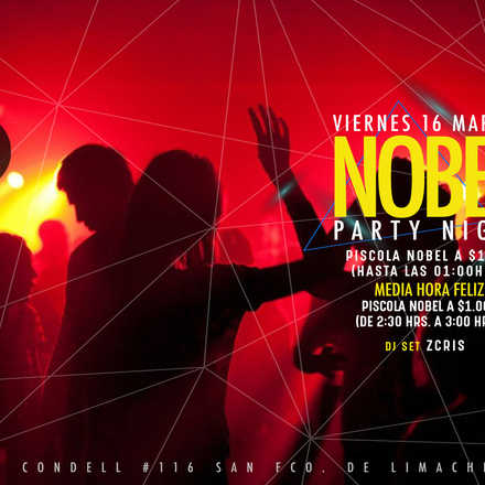 Santo Averno / Nobel Party Night