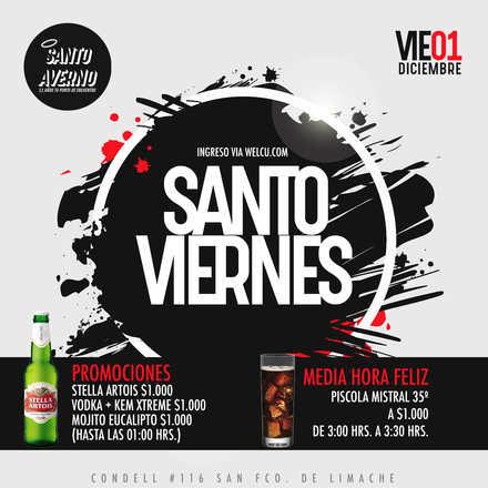 Santo Averno / Viernes 01 Dic