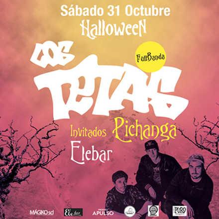 Los Tetas, Halloween en Valpo @ Ele Bar