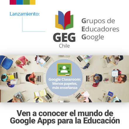 Lanzamiento Grupos de Educadores Google Chile