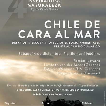 Charlas Ladera Sur: Inspirados por la Naturaleza - Chile de cara al mar.