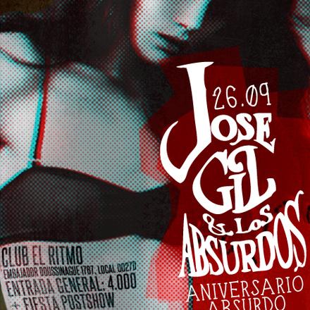 JOSE GIL Y LOS ABSURDOS | ANIVERSARIO ABSURDO | JUEVES 26 DE SEPTIEMBRE