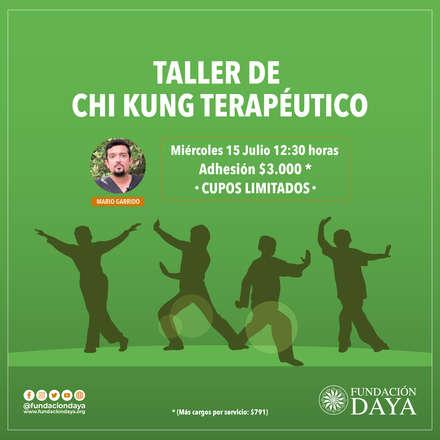 Taller de Chi Kung Terapéutico 15 julio
