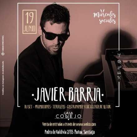 Javier Barria en Casa Conejo