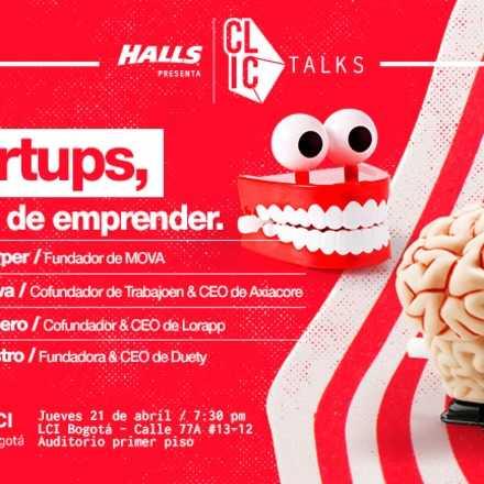 CLIC Talks - Startups (Evento Gratuito)