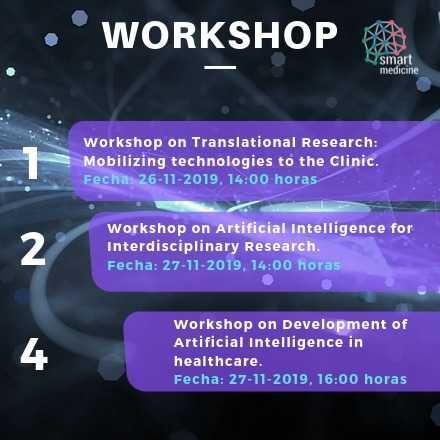 Workshops del Simposio Chile-Canada de Medicina e IA