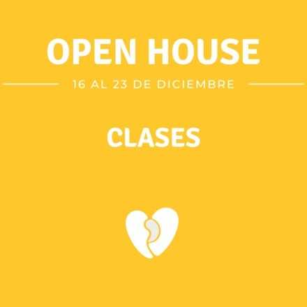 Clases Open House 2019