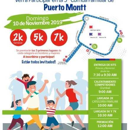 III Versión corrida familiar Puerto Montt