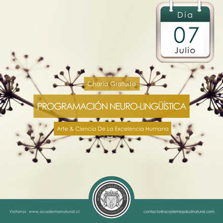 Charla Programación Neuro Lingüística