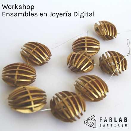 Workshop Ensambles en Joyería Digital