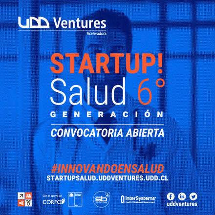 Sesión Informativa Convocatoria de Startup Salud UDD Ventures