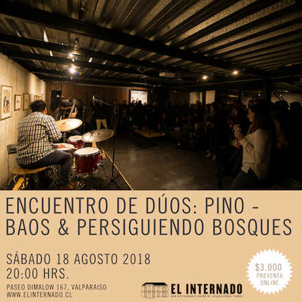 Encuentro de dúos: Pino – Baos & Persiguiendo Bosques