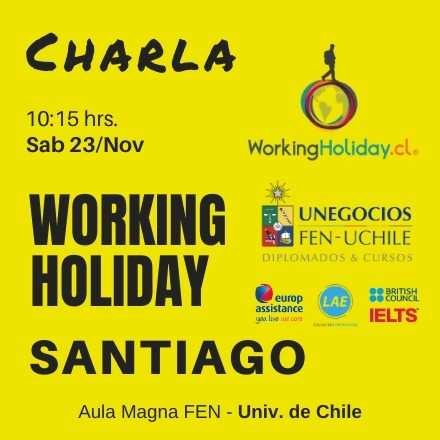 Working Holiday Santiago FEN 2019