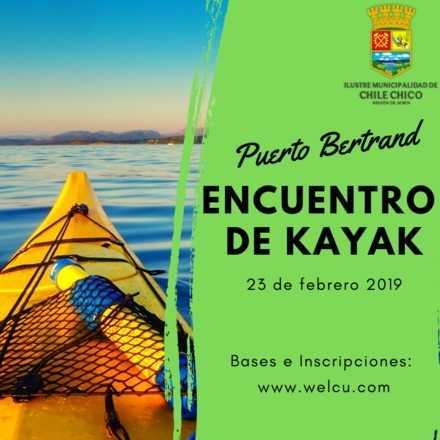 Encuentro Internacional de Kayak Pto. Bertrand 2019